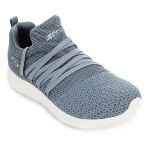 [Azul ou Preto] Tênis Skechers Bobs Sparrow Sneaker Club Feminino - Azul e Branco