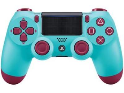 Controle para PS4 sem Fio DualShock 4 Sony - Berry Blue - Magazine Ofertaesperta