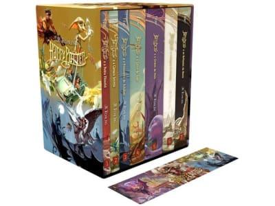 Box Livros J.K. Rowling Edição Especial - Harry Potter Exclusivo - Magazine Ofertaesperta