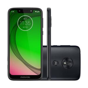 """2 Unidades! - Smartphones Motorola Moto G7 Play 32GB Dual Chip 2GB RAM Tela 5.7"""""""