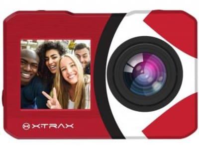 """Câmera de Ação XTrax Selfie 16MP Visor 2"""" - Panorâmica Filma em 4K Wi-Fi"""