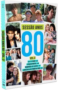 DVD Sessão Anos 80 Vol 3 - Digipak com 2 DVD's