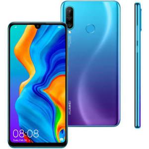 """Oferta ➤ [Preto ou Azul]  Smartphone Huawei P30 Lite 128GB Preto 4G – 4GB RAM Tela 6,15"""" Câm. Tripla + Câm. Selfie 32MP   . Veja essa promoção"""
