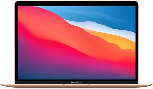 "Apple MacBook Air 13.3"", Chip M1, 8GB RAM, 256GB SSD - Gold"
