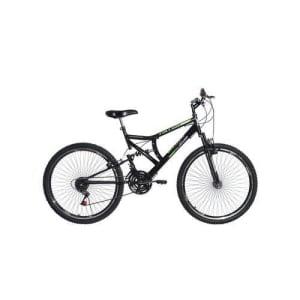 Bicicleta Aro 26 Suspensão Full Blaze Preto