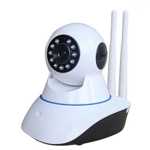 Câmera IP Wifi 720P Robo C/ Áudio Grava CartãoSD