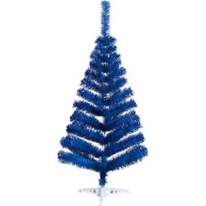 Árvore de Natal Tradicional Colorida 1m - Orb Christmas - 4 Cores