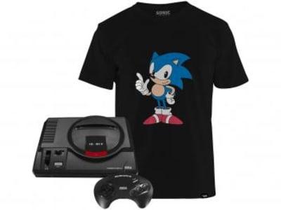 Mega Drive 1 Controle Tectoy - 22 Jogos na Memória