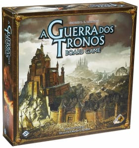 Jogo De Tabuleiro A Guerra Dos Tronos, Galápagos, 2ª Edição - Galápagos Jogos