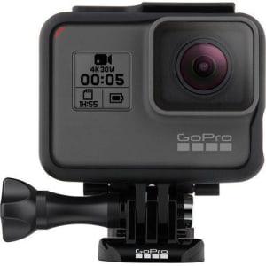 Câmera Digital Gopro Hero 5 Black à prova d'água 12.1MP com Wi-Fi e Gravação 4K - Cinza/Preta