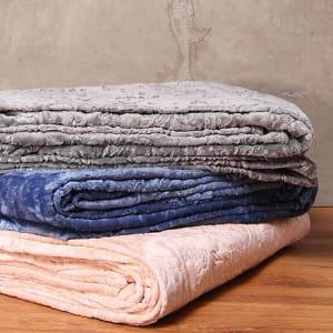 Cobertor Queen  Flannel 3D - Casa & Conforto