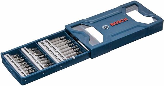 Bosch 2607017400-000, Jogo Mini X-Line Pontas, Azul, 25 Peças