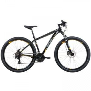 Mountain Bike Caloi Extreme - Aro 29 - Freio Disco Hidráulico - Câmbio Shimano Tourney - 21 Marchas