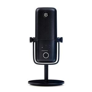 Microfone Condensador Elgato Wave 3 USB Solução de Mixagem Digital Anticliping Preto - 10MAB9901