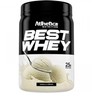 Best Whey Atlhetica - Creme de Baunilha - 450g