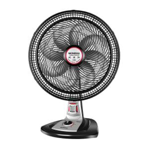Ventilador de Mesa Mondial Turbo Force 40cm com Repelente Pastilha - Preto/Cinza
