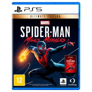 Confira ➤ Jogo Marvels Spider Man: Miles Morales Edição Ultimate – PS5 ❤️ Preço em Promoção ou Cupom Promocional de Desconto da Oferta Pode Expirar No Site Oficial ⭐ Comprar Barato é Aqui!