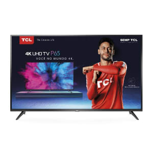"Smart TV LED 50"" TCL Ultra HD 4K HDR 50P65US"