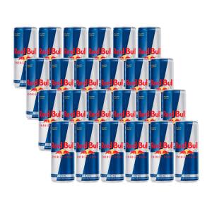Kit Energético Red Bull Lata 250 ml com 24 Unidades