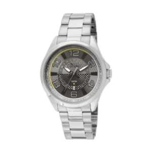 Relógio Masculino Analógico Condor Speed, Pulseira de Aço Prata, Caixa de 4,4 Cm, Resistente à Água - 5 ATM (50 Metros) - CO2115XL/3C