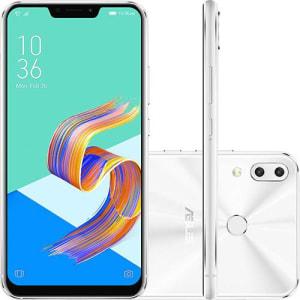 "Smartphone Asus Zenfone 5 64GB Dual Chip Android Oreo Tela 6.2"" Qualcomm Snapdragon 4G Câmera 12 + 8MP (Dual Traseira)"