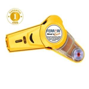 Nivelador a Laser com Furador Ferrari 2 em 1 – Amarelo