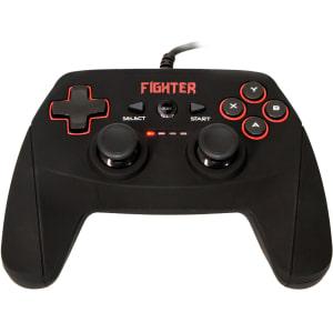 Oferta ➤ Controle Dazz Dualshock Fighter PC/PS3 Preto 62339-7   . Veja essa promoção