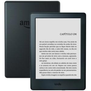 E-Reader Kindle 8ª Geração Tela Sensível ao Toque, Wi-Fi, Preto - AO0513