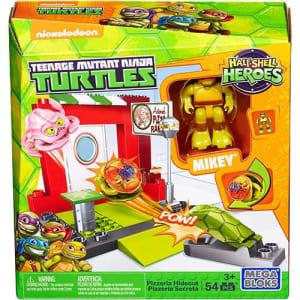 Mega Bloks Tartarugas Ninja JR Conjunto Ruas Pizzaria - Mattel