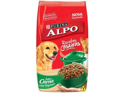 Ração para Cachorro Alpo Receitas Caseiras Adulto - Carne Grelhada com Vegetais 10,1kg - Magazine Ofertaesperta