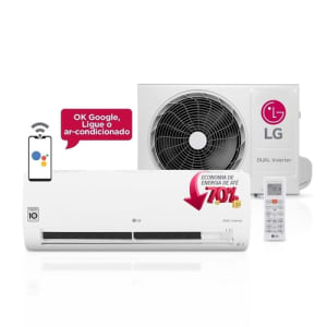 (APP) Ar Condicionado Split LG Dual Inverter Voice 12000 Btus