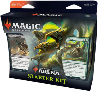Kit Inicial de Magic The Gathering Arena - 2 Decks de Iniciante - Card de Código de Mtg Arena