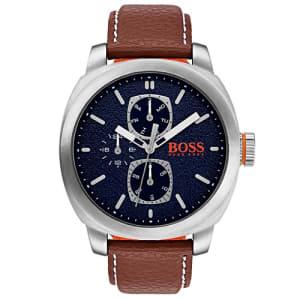 Relógio Hugo Boss Masculino Couro Marrom - 1550027