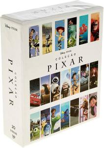 Coleção Pixar 2018 com 20 DVDs
