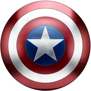 Brinquedo Escudo Capitão América Legends - B7436 Avengers Azul/Vermelho/ Branco