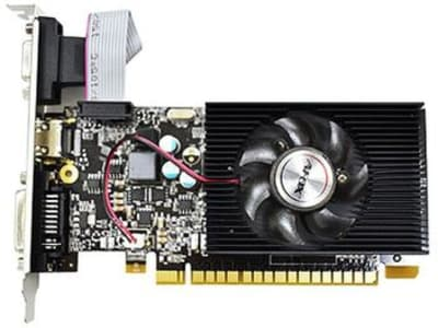 Placa de Vídeo Afox Geforce GT610 2GB DDR3 - AF610-2048D3L5 - Magazine Ofertaesperta
