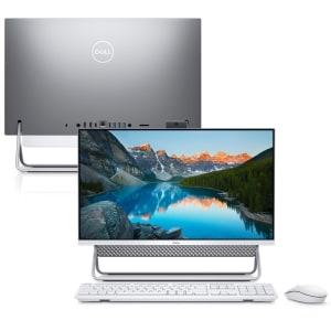 """Computador All in One Dell Inspiron 5400-PS10S 23.8"""" FHD 11ª G. Intel Core i5 8GB 256GB SSD Windows 10 Suporte Premium"""