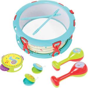 Kit Bateria Baby Buba Multicor