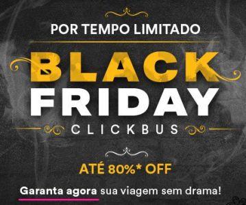 Passagens de Ônibus com até 80% de Desconto com a ClickBus