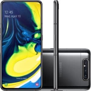Smartphone Samsung Galaxy A80 - Preto