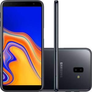 "Smartphone Samsung Galaxy J6+ 32GB Dual Chip Android Tela Infinita 6"" Quad-Core 1.4GHz 4G Câmera 13 + 5MP (Traseira) - Prata"