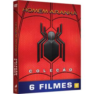 Box DVD - Coleção Homem-Aranha (6 Filmes)