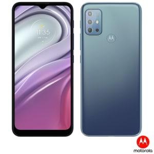 """Smartphone Moto G20 Azul, com Tela de 6,5"""", 4G, 64GB e Câmera Quádrupla de 48MP + 8MP + 2MP + 2MP - XT2128-4"""