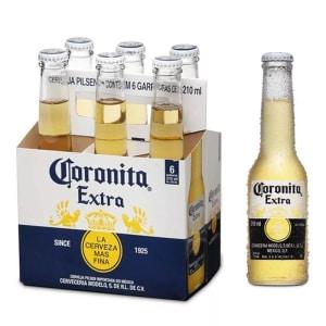 Cerveja Coronita Extra 210ml Caixa com 06 unidades