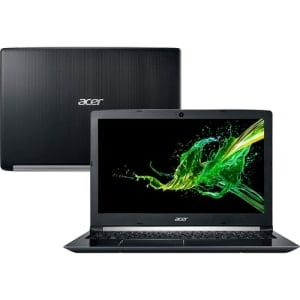 "Notebook Acer Aspire A515-51-C0ZG 8ª Intel Core I7 8GB 1TB 15,6"" Endless OS Linux"