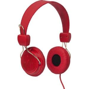 Fone de Ouvido Chilli Beans Supra Auricular Vermelho PERK TM-613MV/3-3