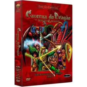 DVD - Coleção Caverna do Dragão (4 Discos)