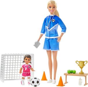 Barbie Professora de Futebol - Multicolorido - GLM47 - Mattel