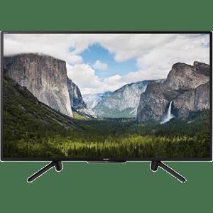 """Smart TV LED 50"""" Sony KDL-50W665F Full HD com Conversor Digital 2 HDMI 2 USB Wi-Fi 60Hz - Preta"""