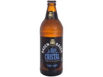 Cerveja Baden Baden Cristal Pilsen - Garrafa 600ml - Magazine Ofertaesperta